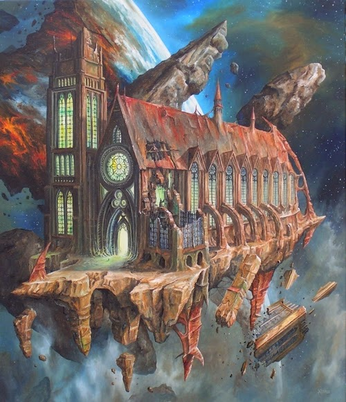 19-Jarosław-Jaśnikowski-Surreal-Paintings-of-Fantastic-Realism-www-designstack-co