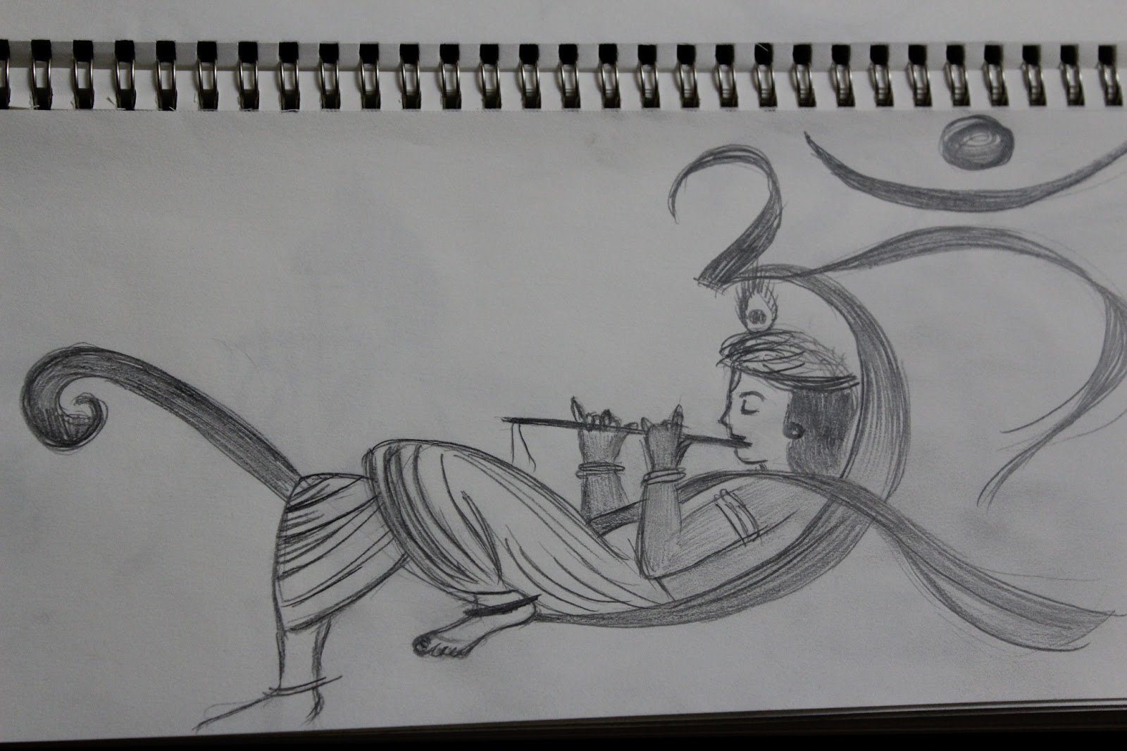 the path of my pencil: Playful sketches..on AUM