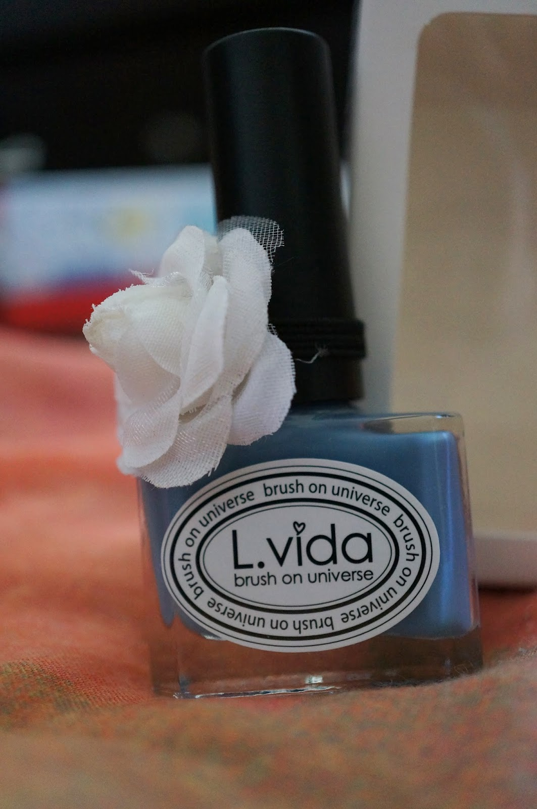 L.vida Nail Polish Hyacinth Bouquet Memebox 12 Global Unboxing Review