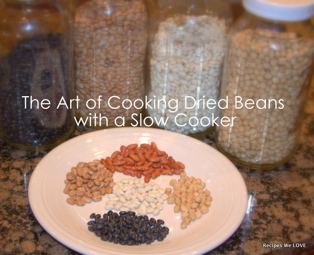 how to cook dried chickpeas in slow cooker