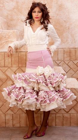 trajes de flamenca cortos