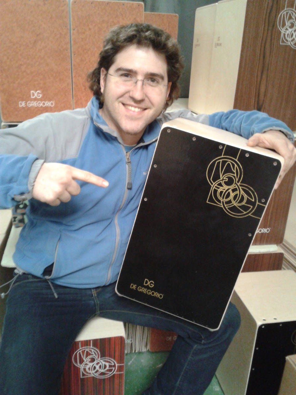 Cajondgblog new caj n and endorsers - Ramon soler madrid ...