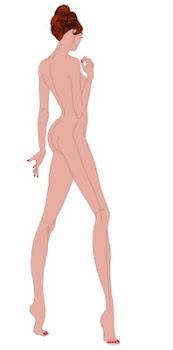 Curso dibujar el cuerpo de un figurín