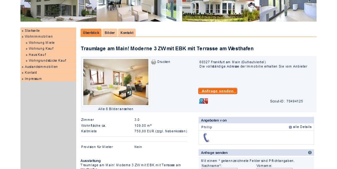 informationen ber wohnungsbetrug informations about rental scam seite 109. Black Bedroom Furniture Sets. Home Design Ideas