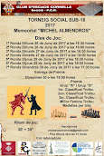 II Memorial Michel Almendros 40è Social Sub 8/18