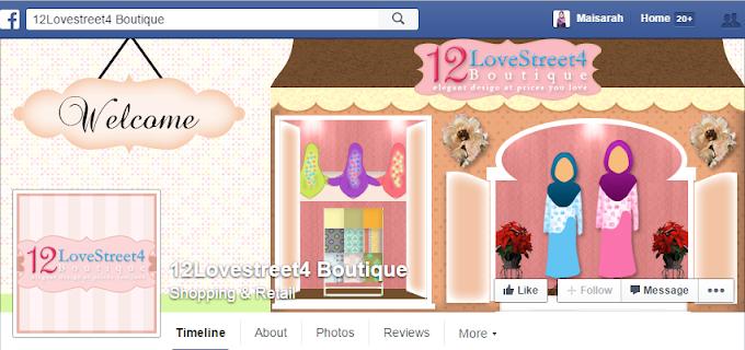 Tempahan Design Facebook Cover Photo 12Lovestreet4 Boutique