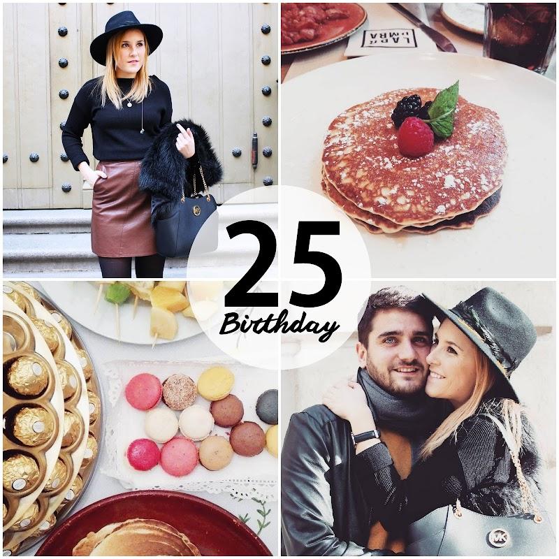 MY 25 th BIRTHDAY
