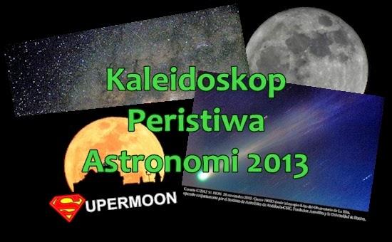 Kaleidoskop Peristiwa Astronomi 2013