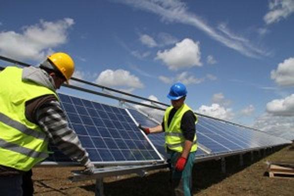 installing PV panels