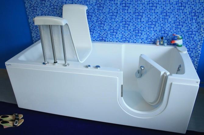 Vasche Da Bagno Con Sportello : Vasca con porta serena bagnosereno