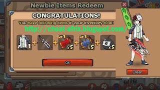 Kode Newbie Item Redeem Tanpa Menggunakan Cheat 100% Work!!