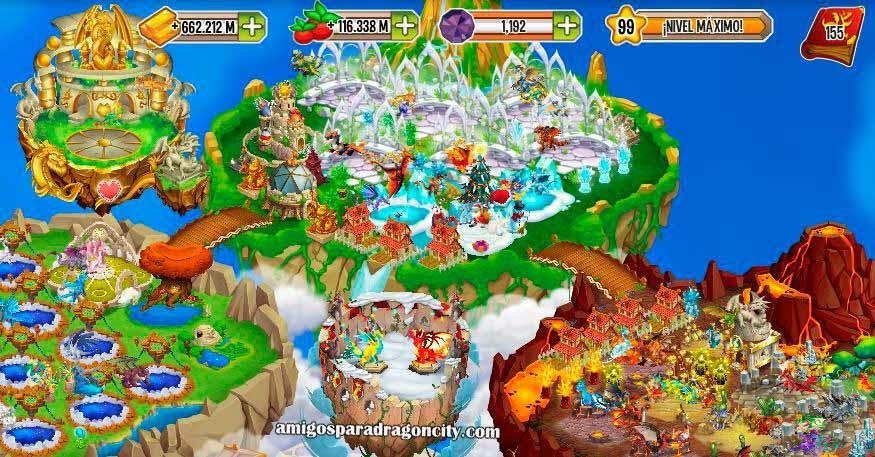 imagen de la isla torneo el invierno se acerca de dragon city