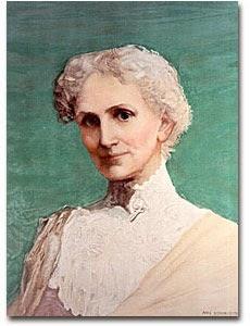 ♦ Mary Baker Eddy sua liderança contínua: