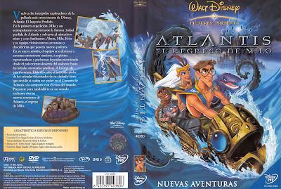 Atlantis: El regreso de Milo (2003) | Caratula | imagen