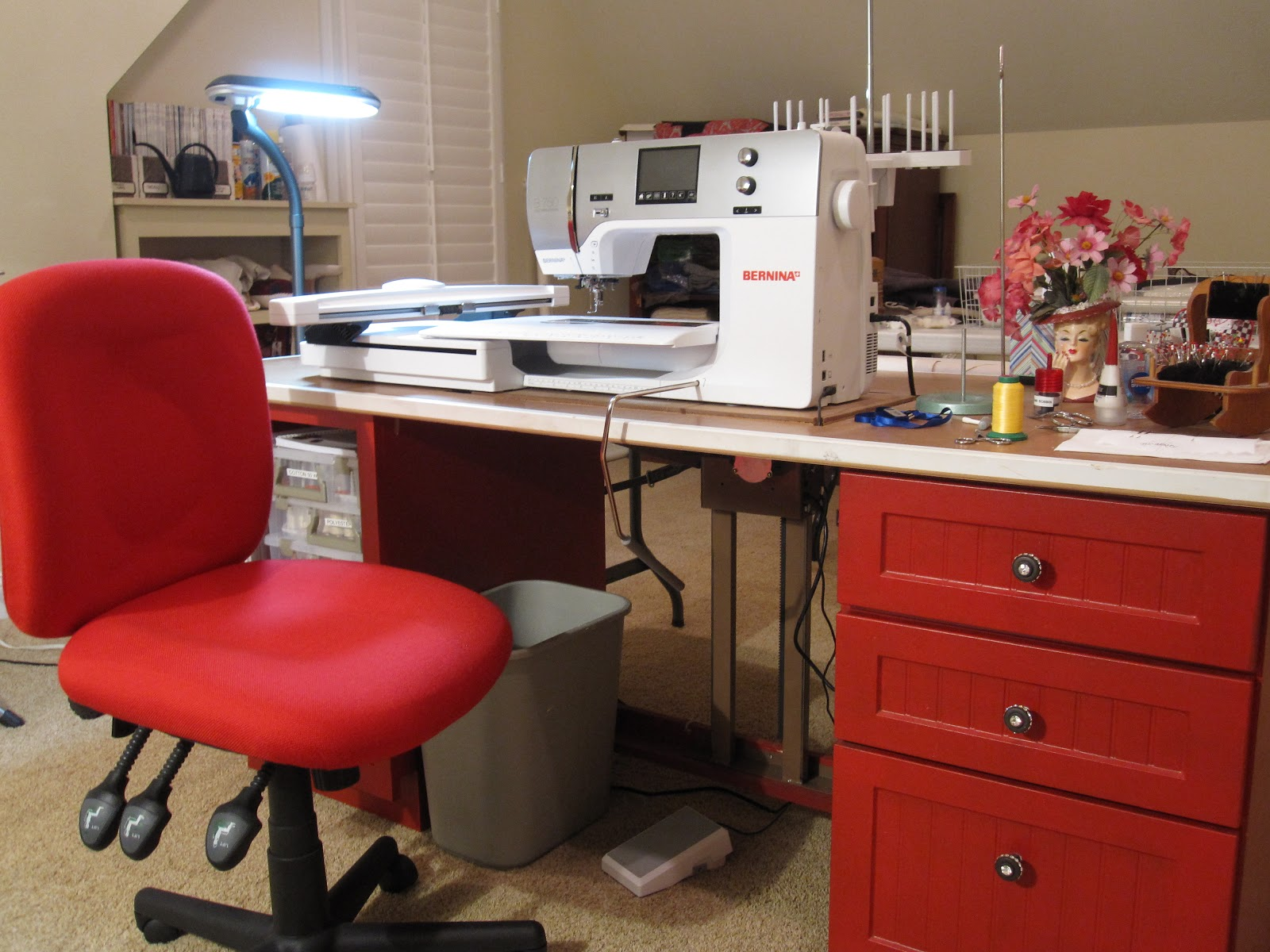 Cheeky Cognoscenti New Sewing Goo s & Studio Remodeling Update