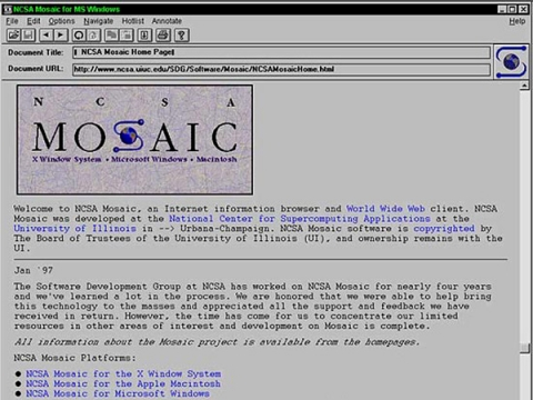 A team of CERN (European Center for Nuclear Research) launched an unusual project that will please nostalgic for the Internet beginning to recreate the first web page to celebrate the 20th anniversary of the creation of the World Wide Web