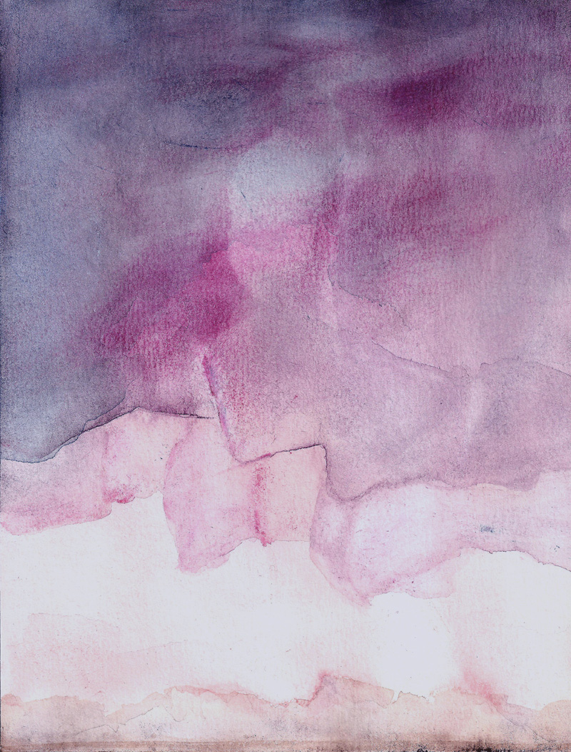 purple abstract landscape, weather, sky, tipping point, art, fine art painting, minimalism