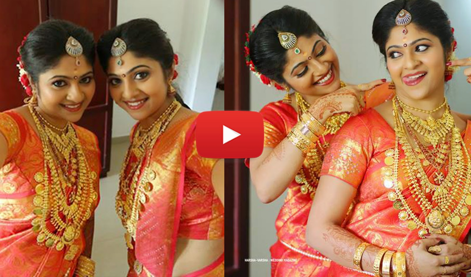 Kerala wedding photos muslim wedding photos wedding kerala wedding - Beautiful Twins Wedding Kerala