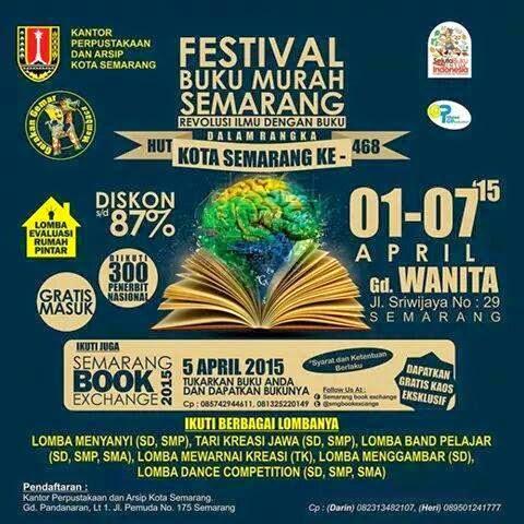 Festival Buku Murah Semarang 2015