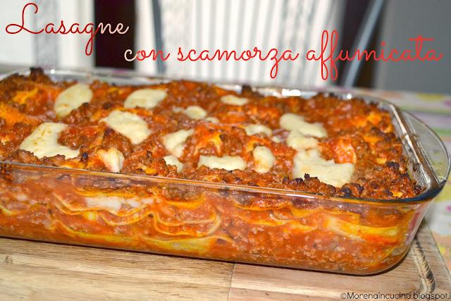 lasagne con scamorza affumicata e... buone feste!!!!!