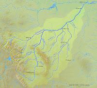 yellowstone river map