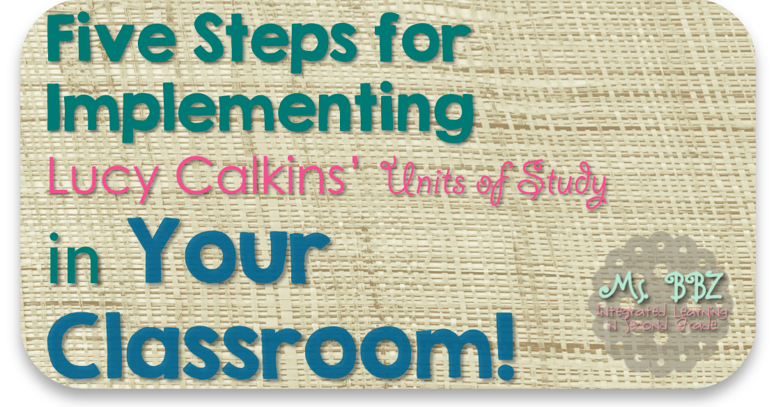 How I Used Lucy Calkins' Units of Study Writing Program to ...