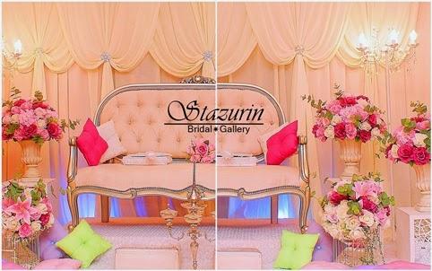 Pelamin Nikah Sanding Malam Berinai Lili Nazeli Balakong Bertemakan English Classic Vintage 2014 Majlis Pernikahan Solemnization