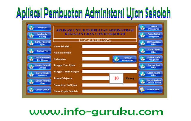 Aplikasi Pembuatan Administrasi Kegiatan Ujian Di Sekolah
