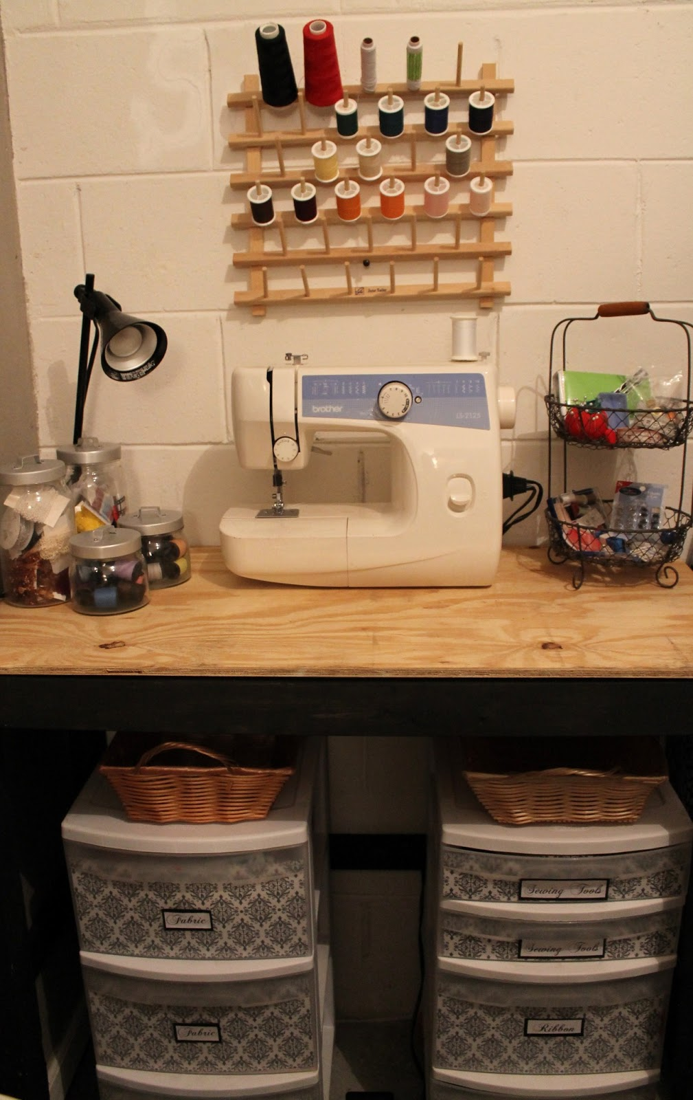 Craft Room Secrets Diy Sewing Station