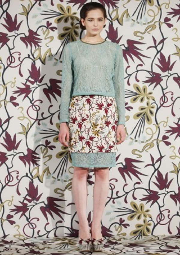 Fashion Highlight: Floral Mod Elegance via Nahm Autumn ...