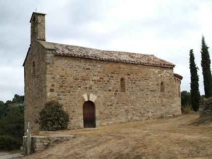 Façana de migdia de Sant Miquel de Vilageliu