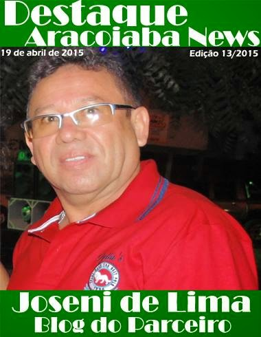 BLOG DO PARCEIRO - DESTAQUE NO ARACOIABA NEWS