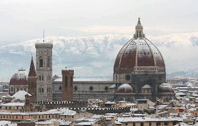 Florence in winter
