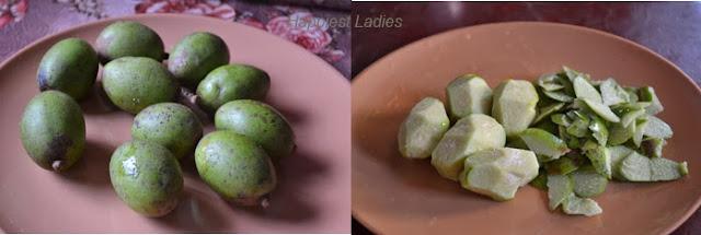 Indian-hog-plum rasam step1+-easy-recipes