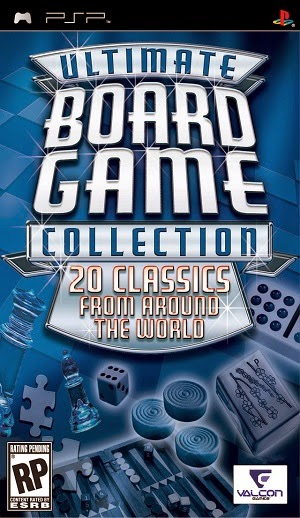 Ultimate Board Game Collection Psp