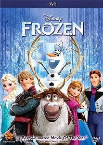 Frozen DVD Movie