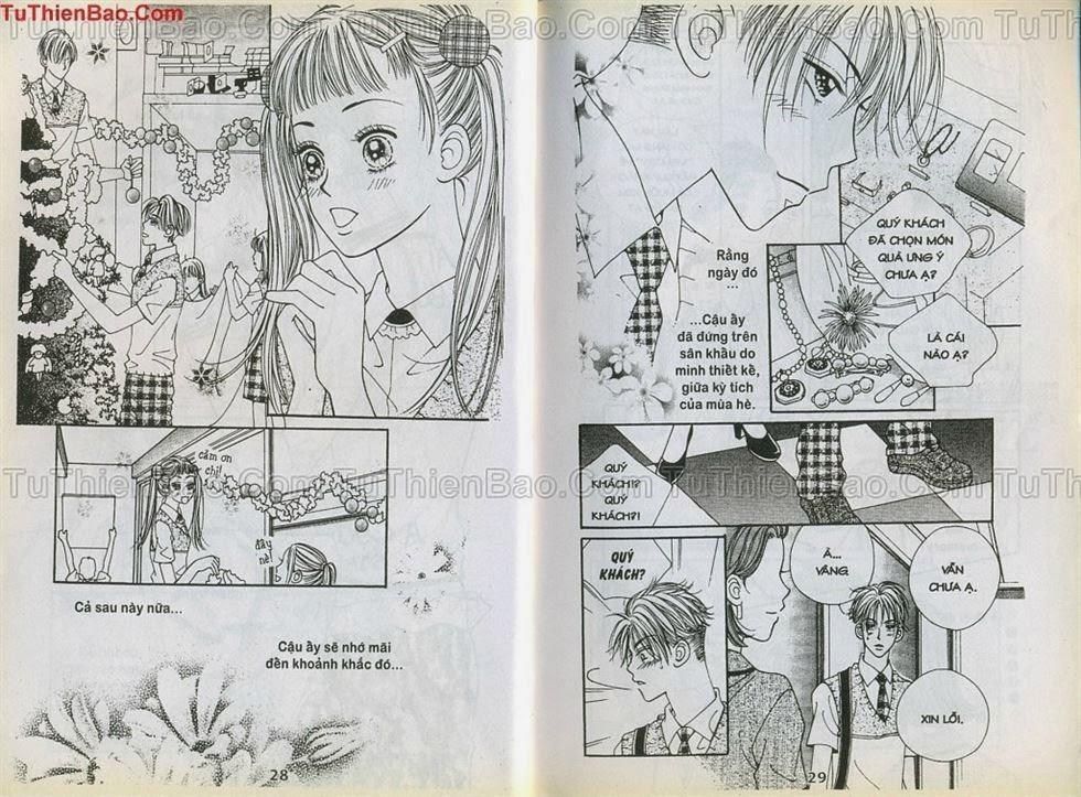 Xin Lỗi Tớ Thích Cậu chap 9 - Trang 14
