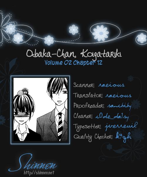 Obaka-chan, Koigatariki Chap 12 - Next Chap 13