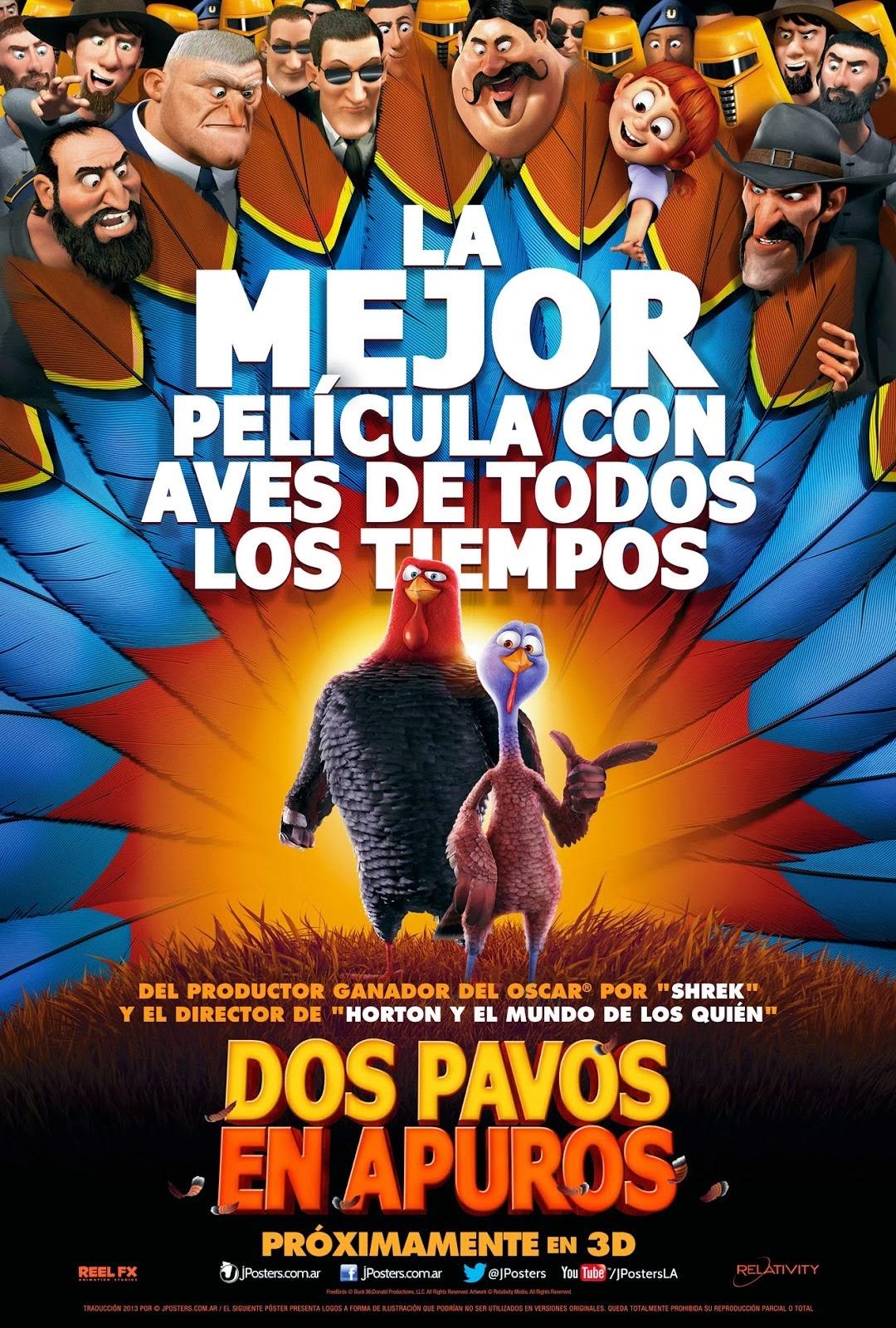 Dos Pavos en Apuros – DVDRIP LATINO