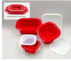New RV Product: Collapsible, Eco-Friendly Silicone Bakeware & Food Storage