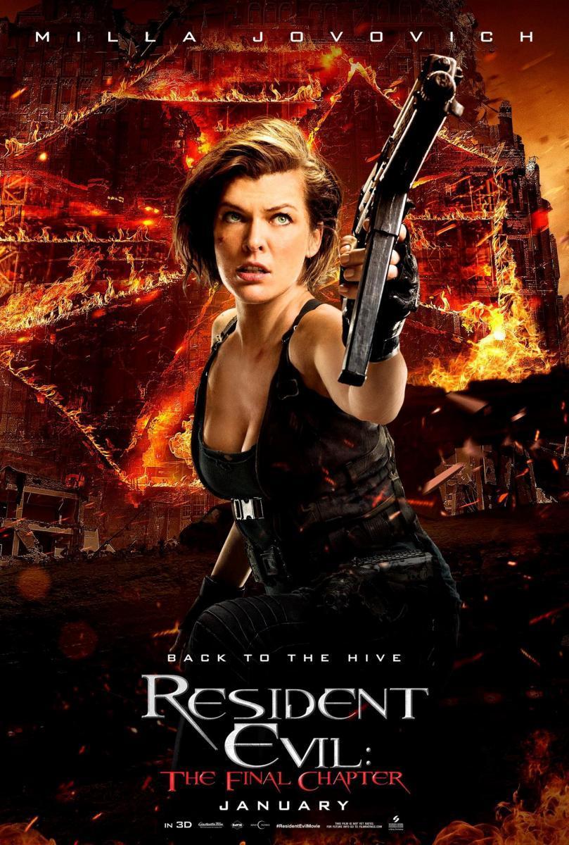 Resident Evil: Capítulo Final (2017) DVDRip Latino