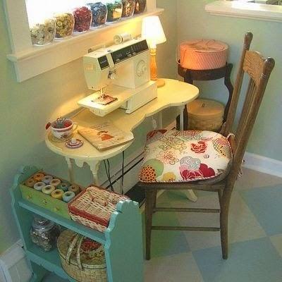 Craftroom cantinho aconchegante
