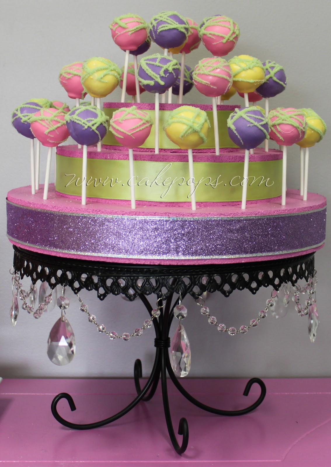 Candy S Cake Pops More Cake Pop Party Displays
