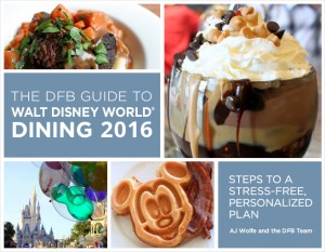 Buy this Amazing Guide Geared to Help You Navigate all the Great Dining Options WDW has to Offer