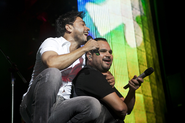 Próximos shows Zezé di Camargo e Luciano Abril Maio Junho 2014