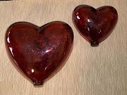 Los Corazones de Vidrio Soplado Activan la Energía de las Relaciones y el . corazones de cristal soplado