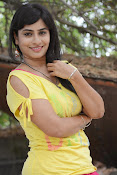 Aparna Glam pics in yellow top-thumbnail-13