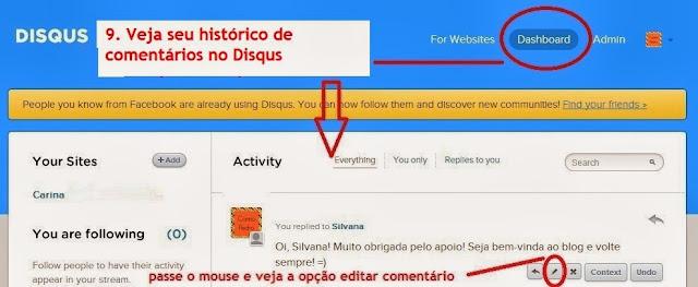 imagem 8 - tutorial - aprenda a usar o Disqus com o Facebook