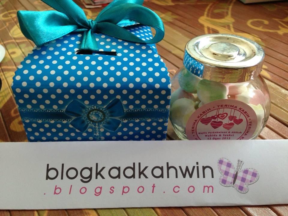 blog kad kahwin door gift perkahwinan set murah