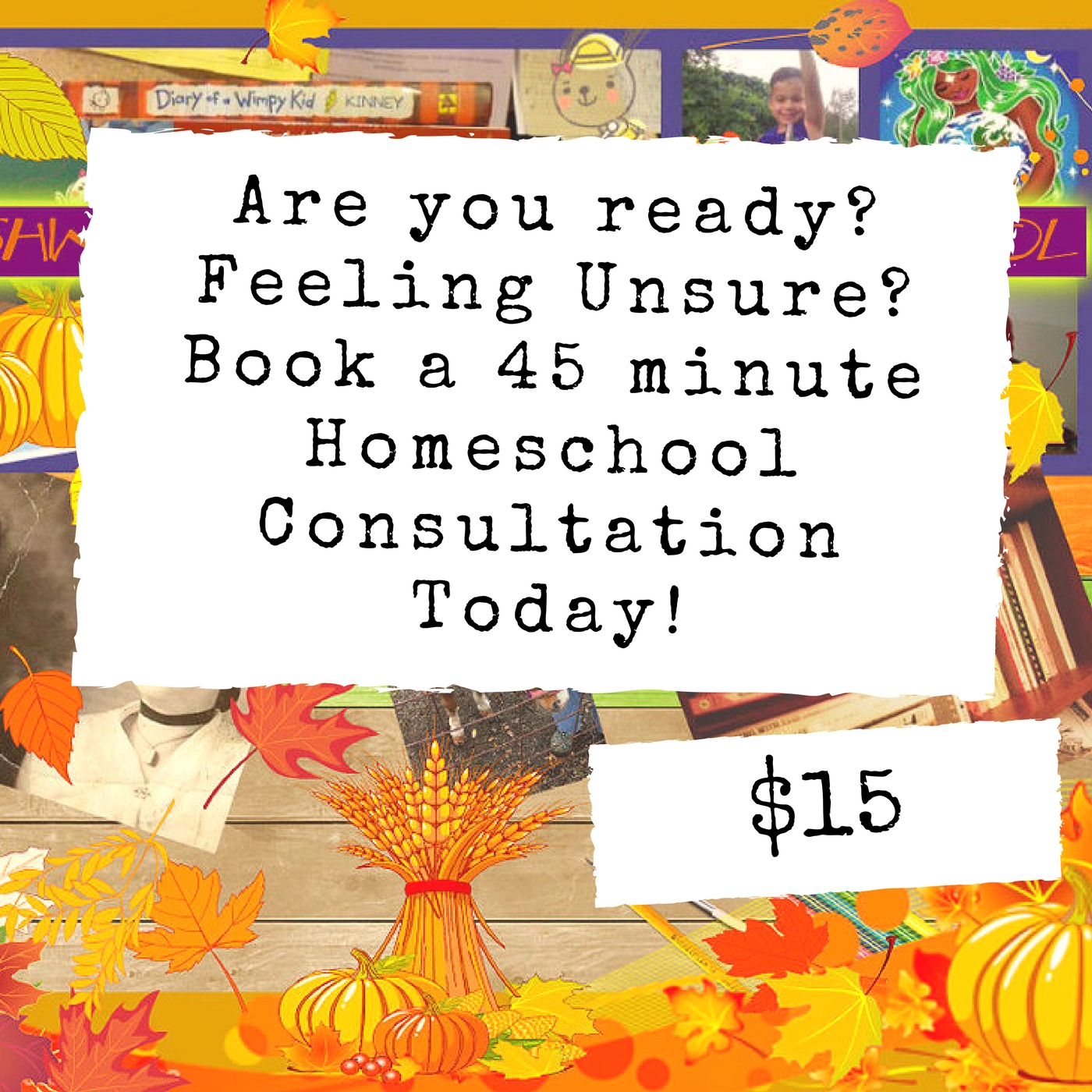 Homeschool Consultation $15